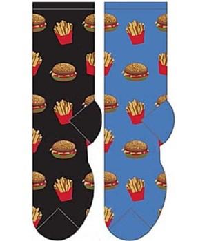 *Hamburger & Fries - Women's Crew