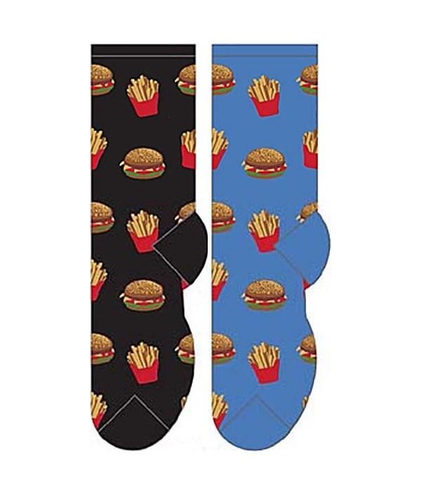 Hamburger & Fries - Women's Crew