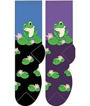 Frog on Lily - Women's Crew