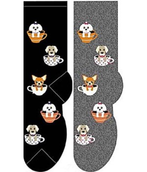 Tea Cup Dogs - Women's Crew