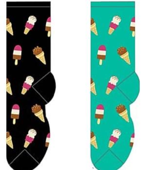 Ice Cream Cones & Pops - Women's Crew