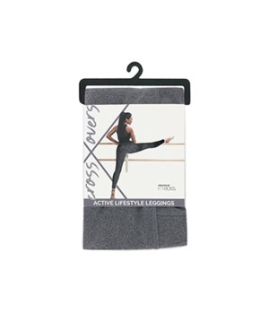 S Gray Active Lifestyle Leggings 2PC