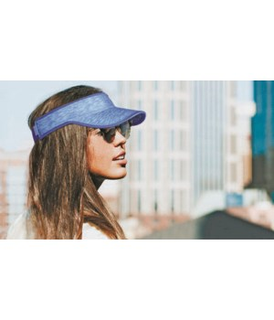 Blue FITKICKS® Sport Visor 4PC
