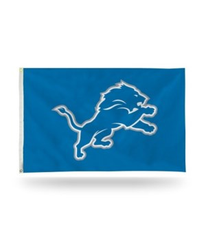 3X5 FLAG - DET LIONS