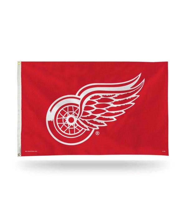 3X5 FLAG - DET REDWINGS