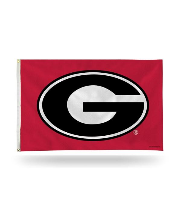 3X5 FLAG - GA BULLDOGS