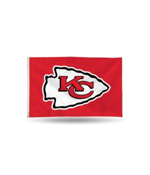 3X5 FLAG - KC CHIEFS