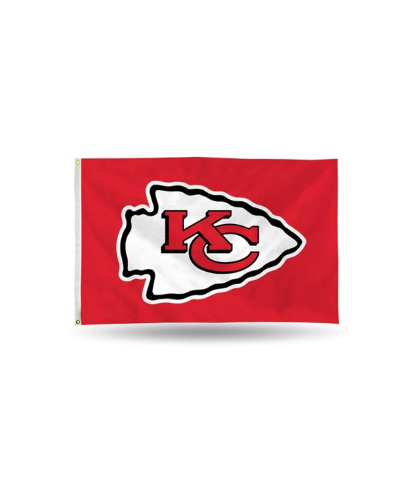 3X5 FLAG - KC CHIEFS