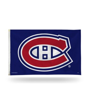 3X5 FLAG - MONTREAL CANADIENS