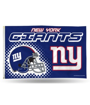3X5 FLAG - NY GIANTS
