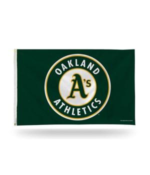 3X5 FLAG - OAK A'S