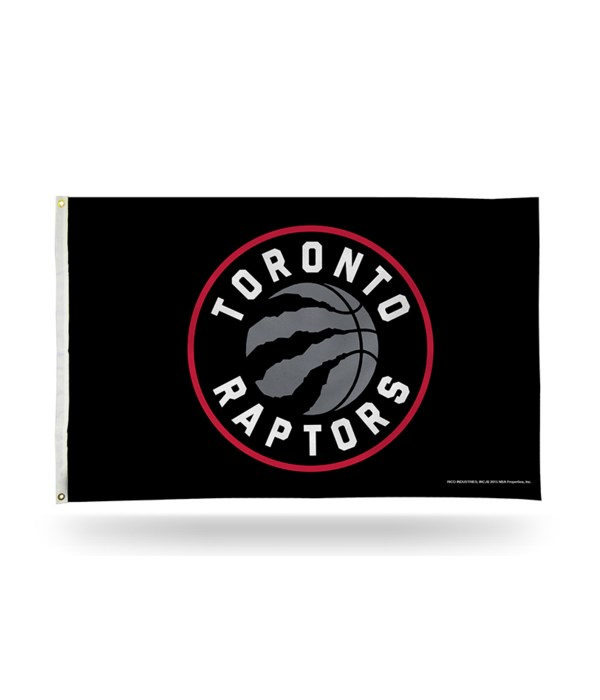 3X5 FLAG - TORONTO RAPTORS