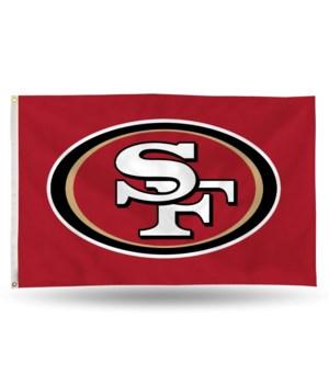3X5 FLAG - SF 49ERS