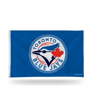 3X5 FLAG - TORONTO BLUE JAYS