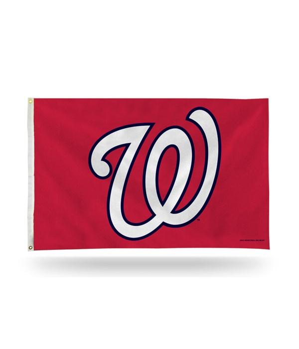 3X5 FLAG - WASH NATIONALS