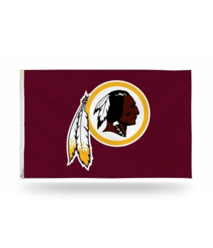 3X5 FLAG - WASH REDSKINS