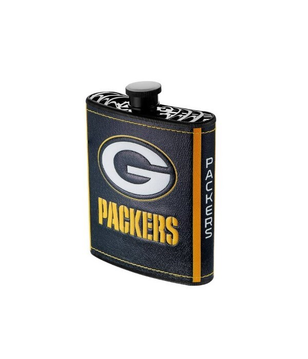 PLASTIC FLASK - GREEN BAY PACKERS