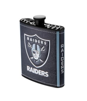 PLASTIC FLASK - OAK RAIDERS