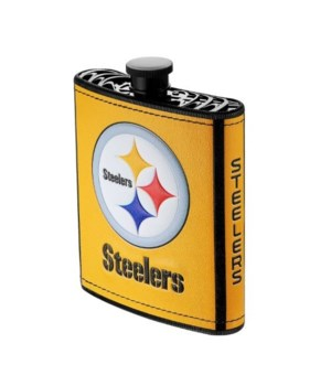 PLASTIC FLASK - PITT STEELERS