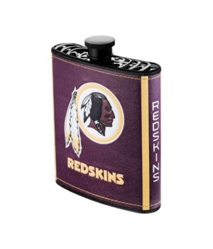 PLASTIC FLASK - WASH REDSKINS