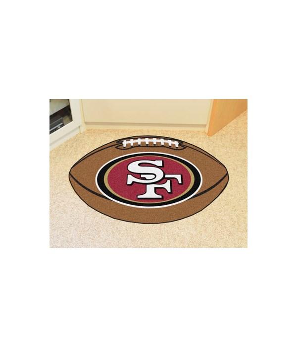 FAN MAT - SF 49ERS