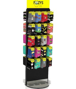 Floor display for Foozy Socks