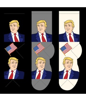 """Trump Mens with Flag """"Limited Offer"""""""