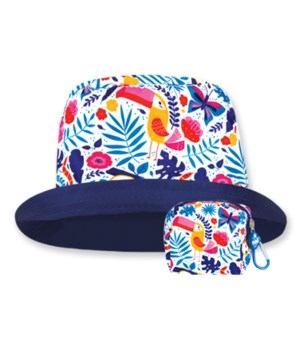 Tropical Floppy Tops 4PC