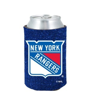 GLITTER COOLIE - NY RANGERS