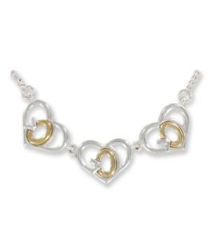 God's Heart Triple-Necklace
