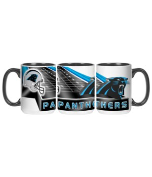 GRID IRON MUG - CAR PANTHERS