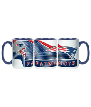 GRID IRON MUG - NE PATRIOTS