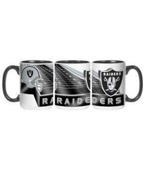 GRID IRON MUG - OAK RAIDERS