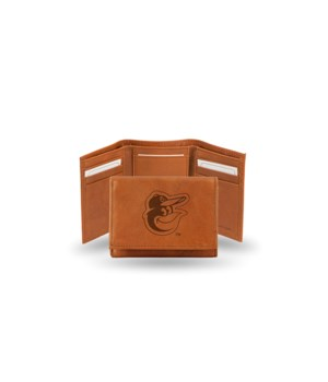 GEN LEATHER WALLET W/ GIFT TIN - BALT OR