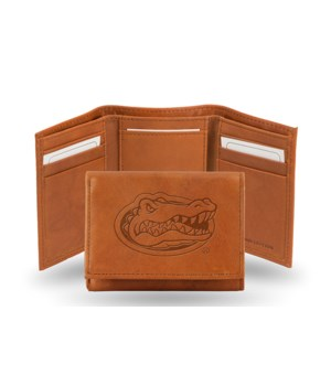 GEN LEATHER WALLET W/ GIFT TIN - FLORIDA