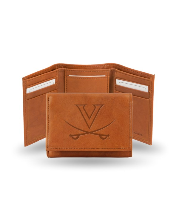 GEN LEATHER WALLET W/ GIFT TIN - UNIV OF