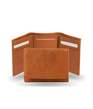 GEN LEATHER WALLET W/ GIFT TIN - WASH NA