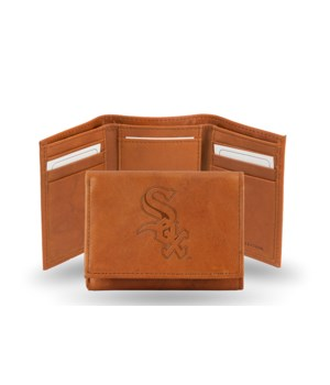 GEN LEATHER WALLET W/ GIFT TIN - CHIC WH