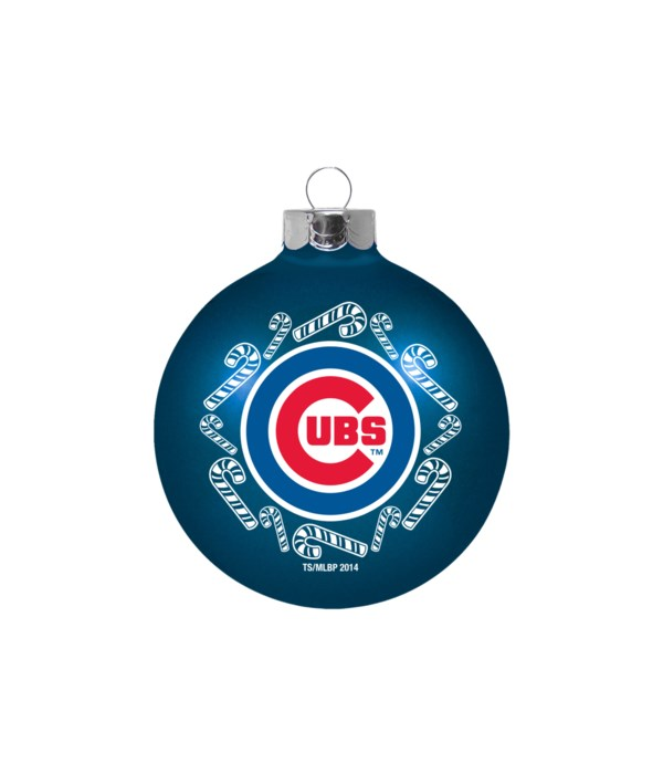 GLASS ORNAMENT - CHIC CUBS