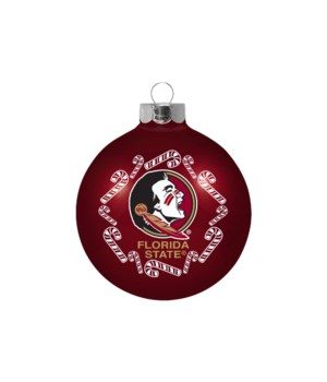 GLASS ORNAMENT - FLORIDA STATE