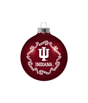 GLASS ORNAMENT - IND HOOSIERS