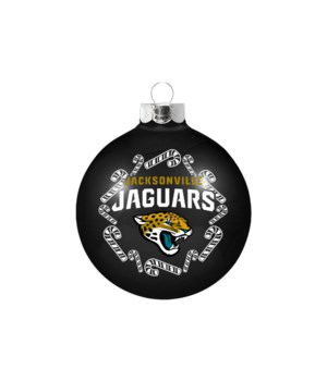 GLASS ORNAMENT - JAX JAGUARS