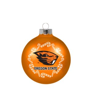 GLASS ORNAMENT - OREGON STATE
