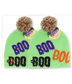 HAW LIGHT UP KNITTD HAT 12PC