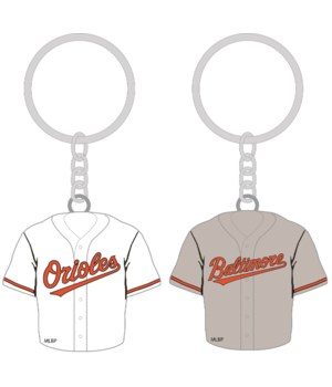 HOME/AWAY KEY CHAIN - BALT ORIOLES