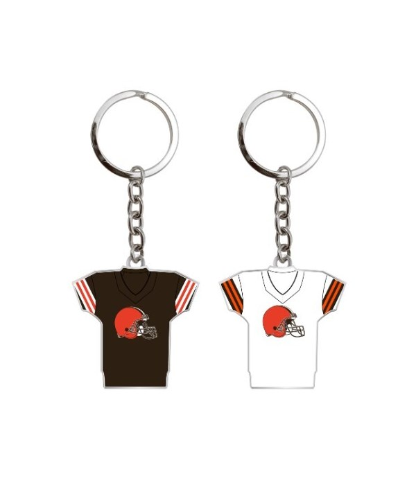 HOME/AWAY KEY CHAIN - CLEV BROWNS