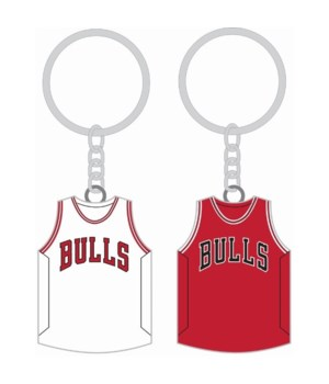 HOME/AWAY KEY CHAIN - CHIC BULLS