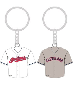 HOME/AWAY KEY CHAIN - CLEV INDIANS