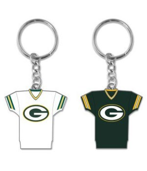 HOME/AWAY KEY CHAIN - GREEN BAY PACKERS