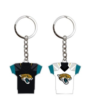 HOME/AWAY KEY CHAIN - JAX JAGUARS